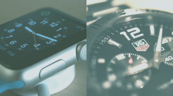 Apple Watch VS Swiss Watch